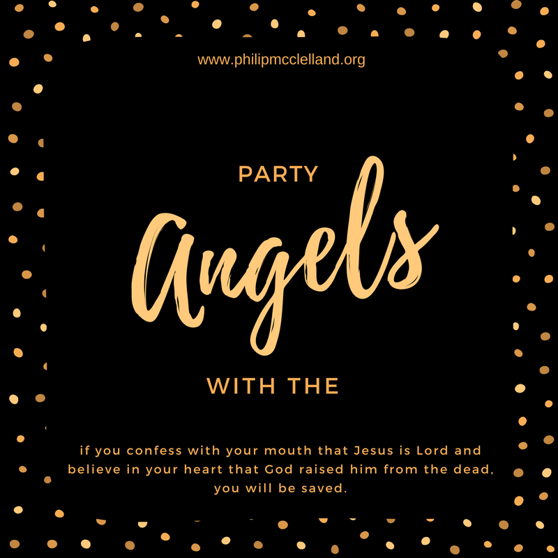 Party with the angels!